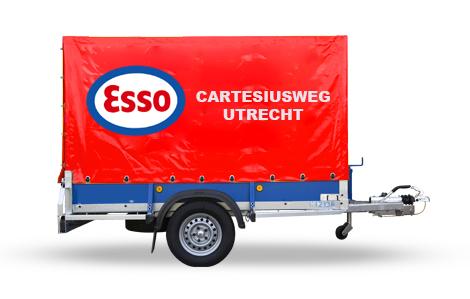 Aanhangwagen-Esso-met-huif